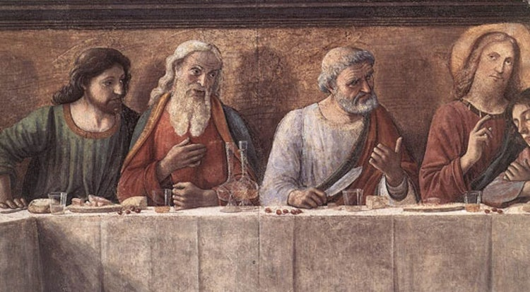 Last supper fresco paintings in Florence: an urban itinerary