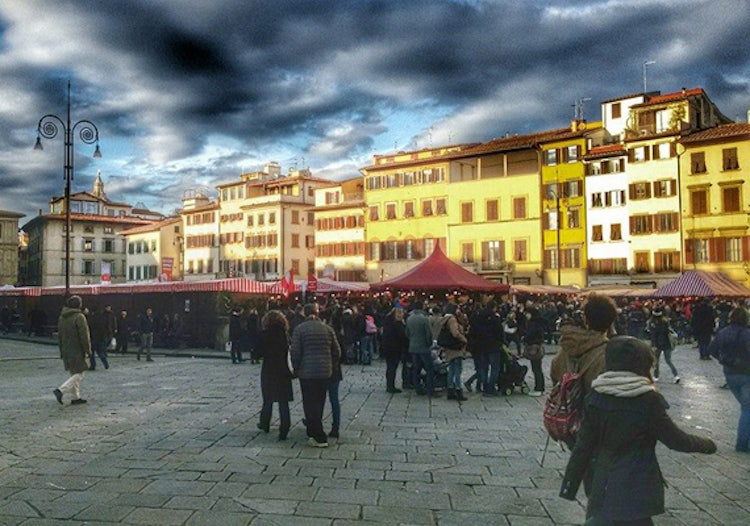 photo credit Mercato di Natale Firenze