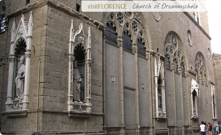 Orsanmichele: Florence,Italy-Church of the Guilds of Florence