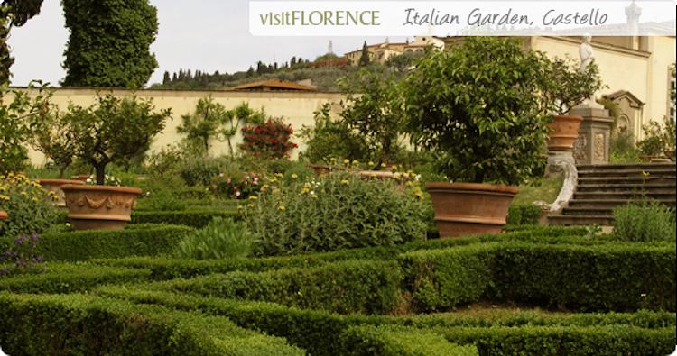 Villa medicea a castello visita la villa di castello e il - Giardino all italiana ...