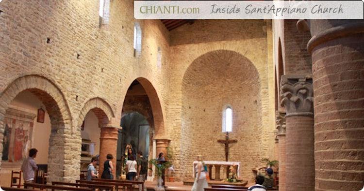 Interno Sant'Appiano