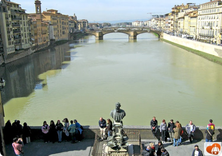 Ponte Vecchio from up