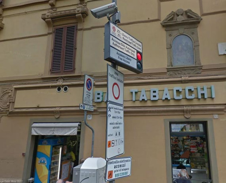 The ZTL in Florence: Restricted Traffic Zone in Florence