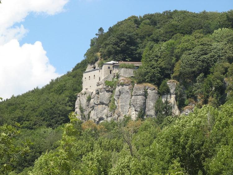 The landscape around La Verna