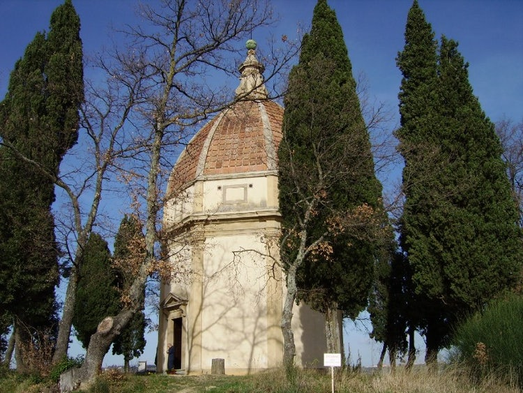 Chapel of San Michele Arcangelo near Barberino val d'Elsa