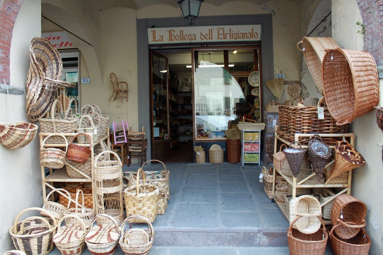 Baskets in Greve in Chianti