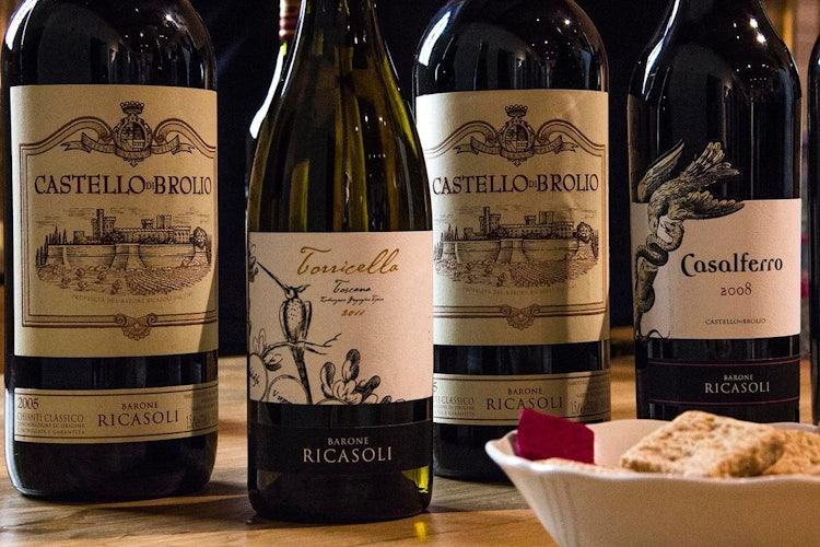 Organized wine tour with Castello di Brolio