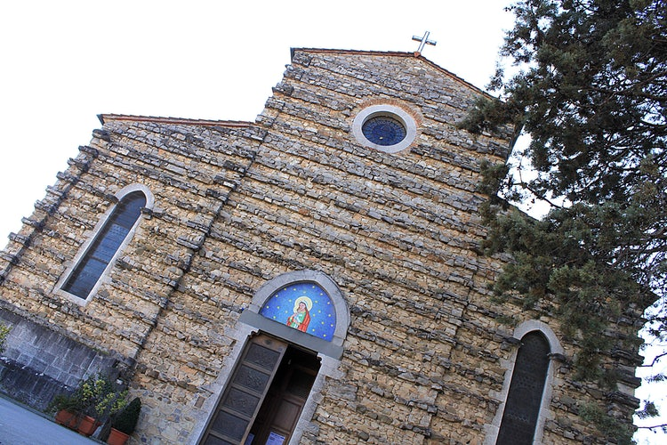 Church in Gaiole in Chianti