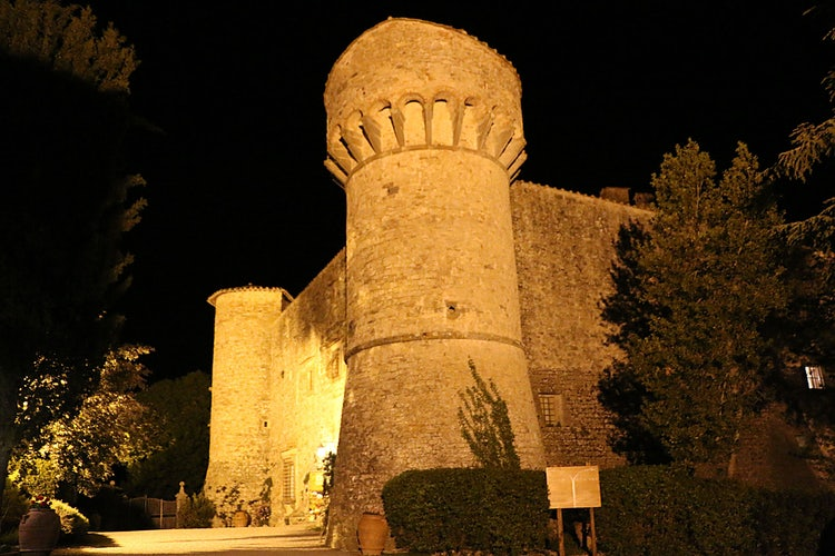 Castello Meleto near Gaiole in Chianti
