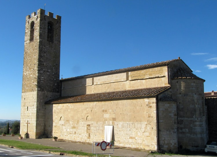 San Donato Church in Chianti