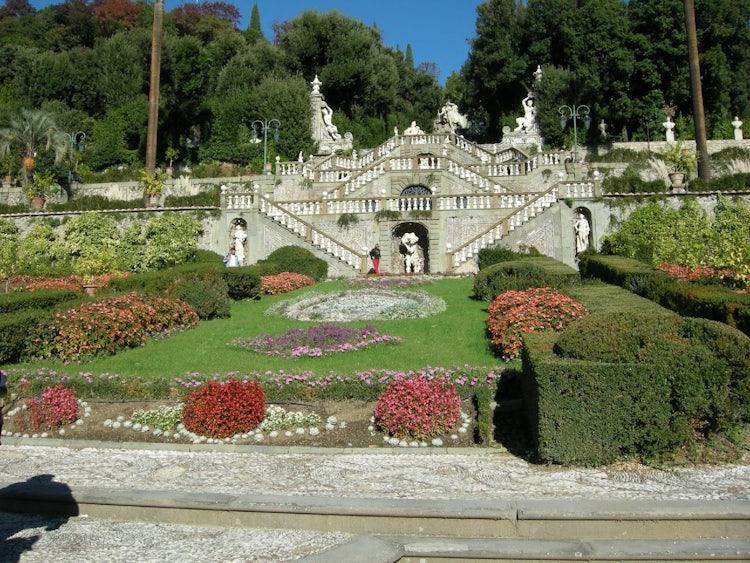 Villa Garzoni makes up part of the park for Pinochio at Collodi