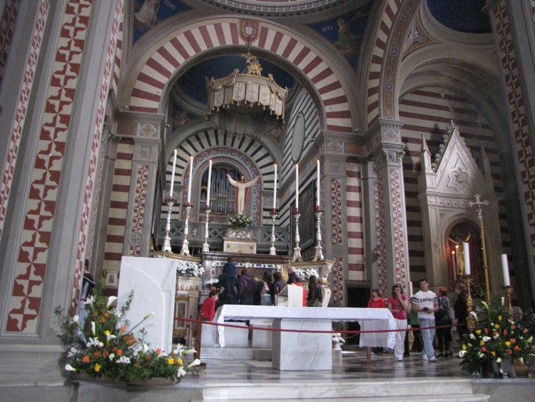 Cortona: Santa Margherita Altar