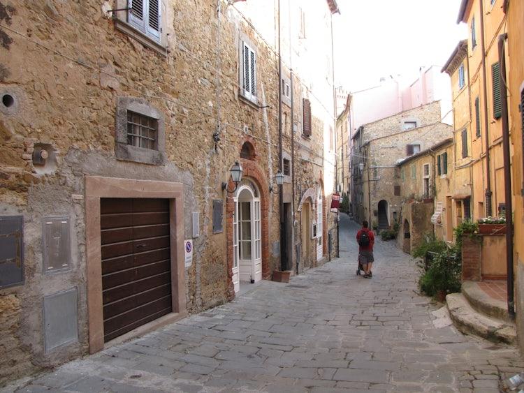View of Castagneto Carducci