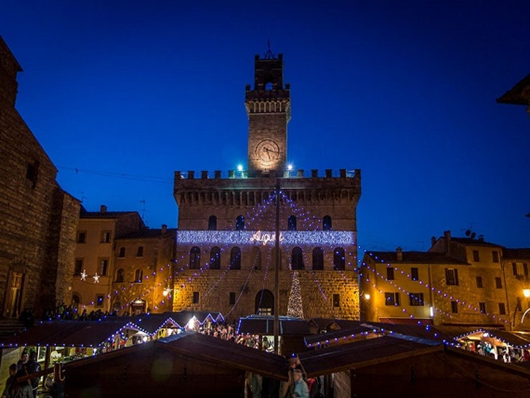 Montepulciano for Christmas in Tuscany