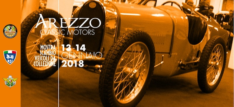 Vintage Car Show: January events in Tuscany