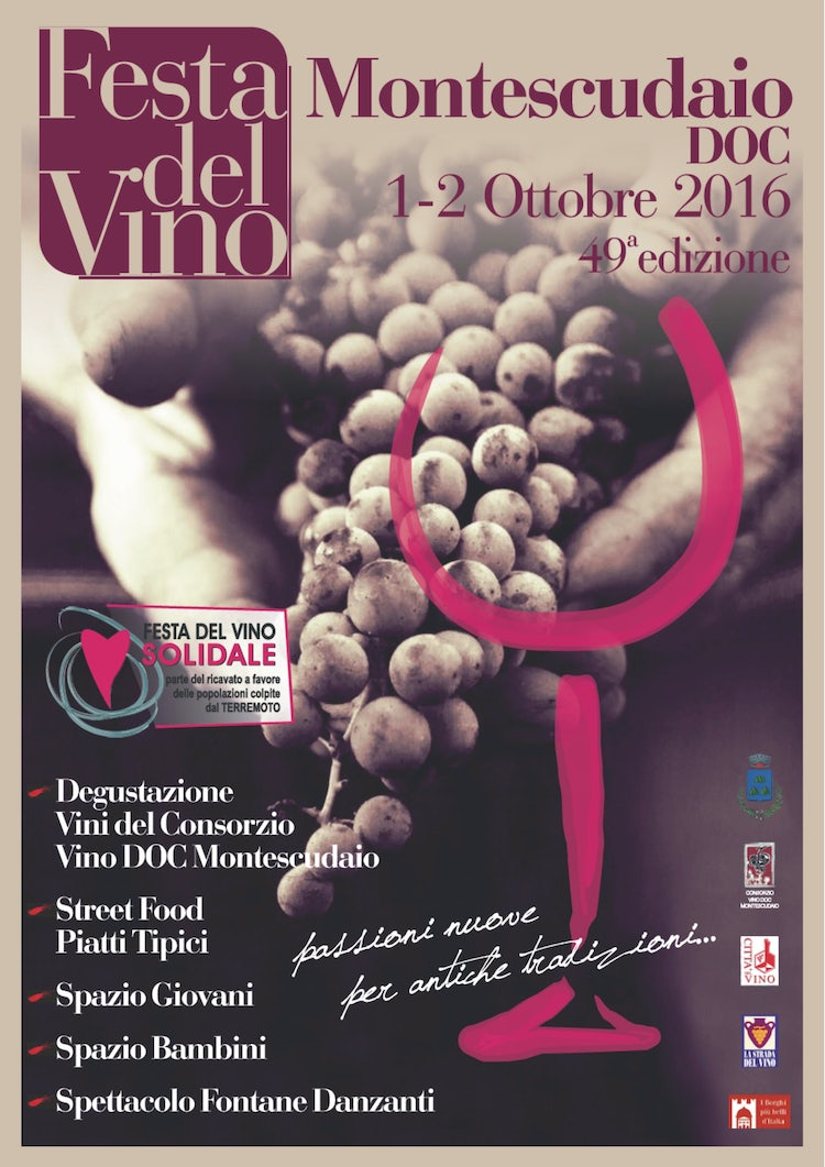 October Events:  Wine at Montescudaio