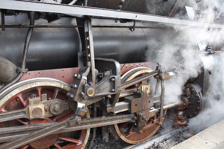 Steam Engine Travel in Tuscany