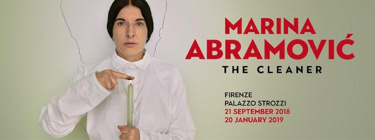 MARINA ABRAMOVIC': Palazzo Strozzi