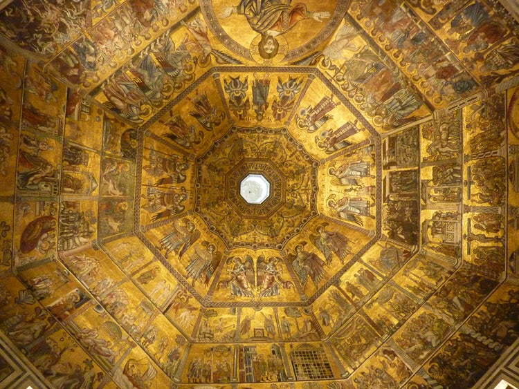 Florence Baptistery interior of dome