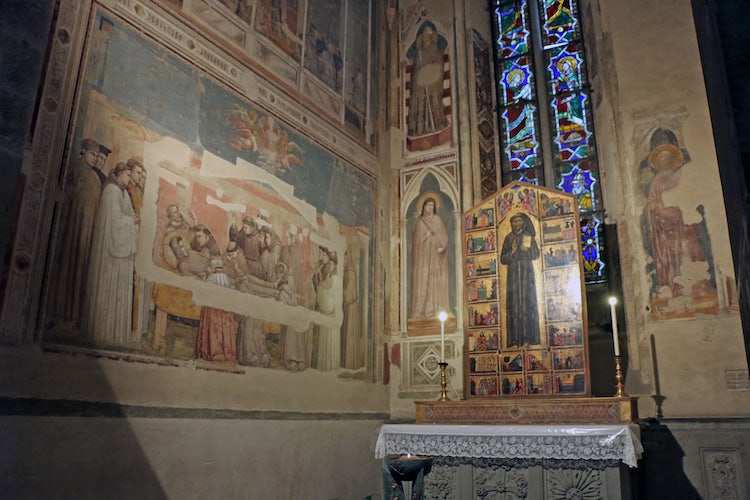 Santa Croce Church in Florence, Italy and Museum Complex of
