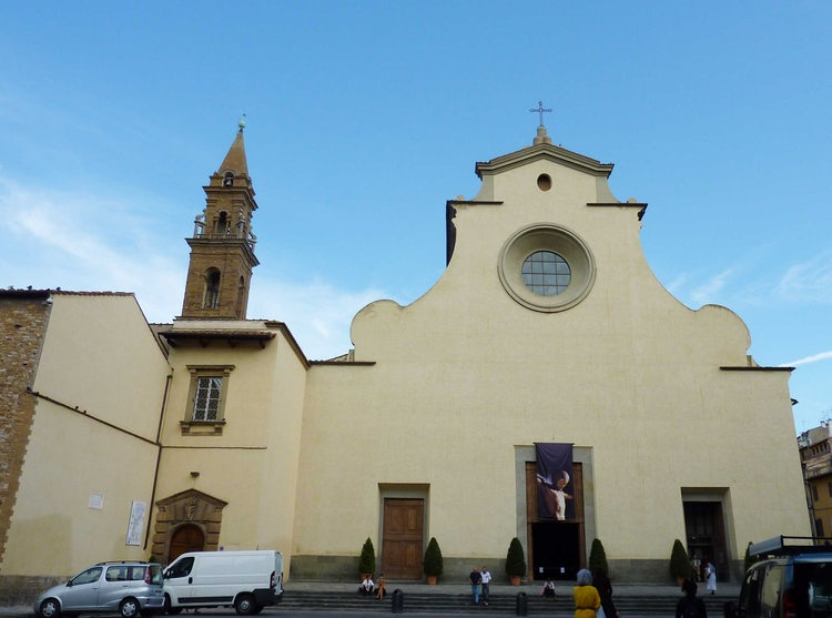 Basilica Santo Spirito Church in Florence, Italy