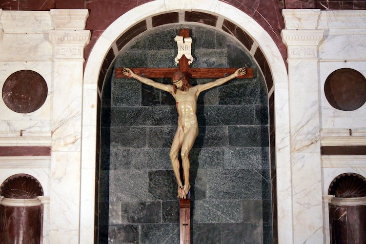 Santa Maria Novella in Florence:  Brunelleschi Cross