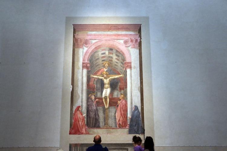 Santa Maria Novella in Florence:  Masaccio