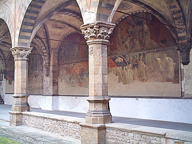 Santa Maria Novella in Florence:  Green Cloister