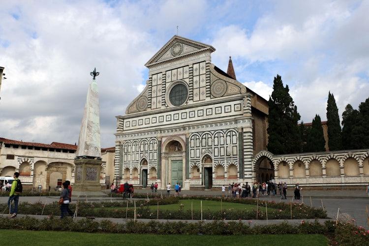 Santa Maria Novella in Florence:  Piazza