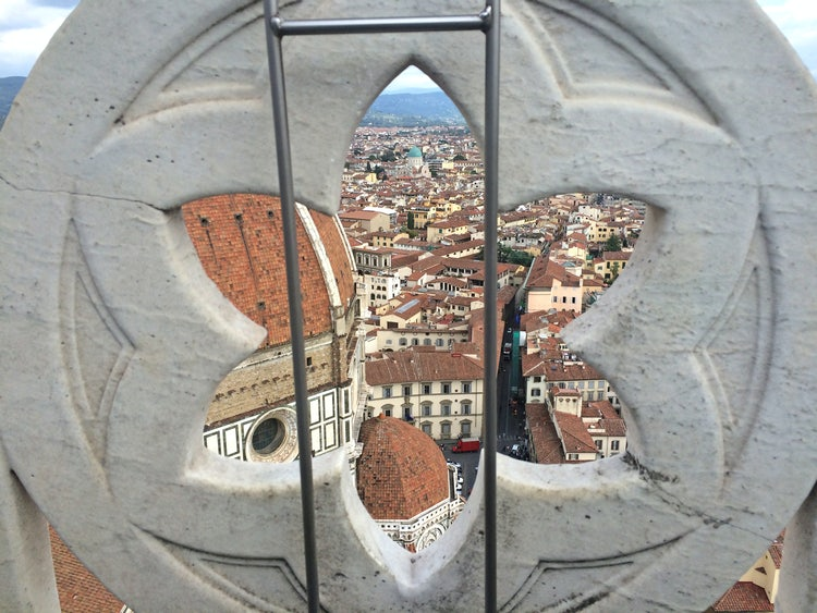 A wonderful view from Giotto Bell Tower