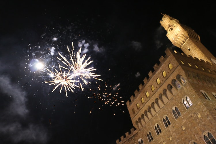 Happy New Year's Eve in Florence City Center