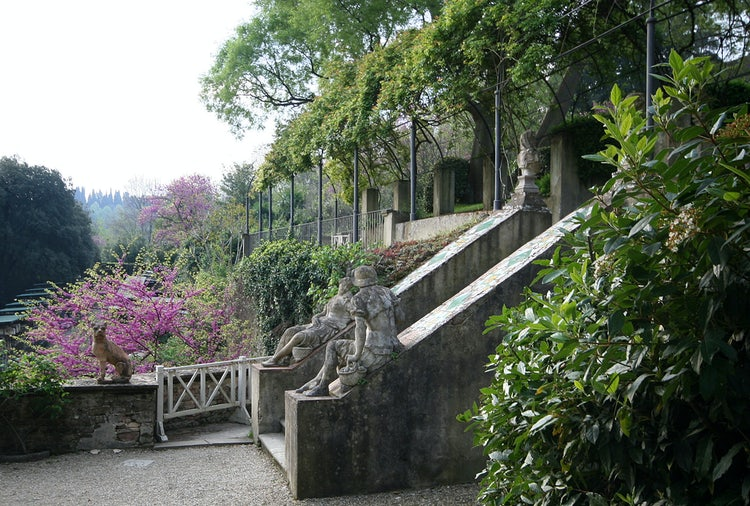 Bardini Gardens - Shaded paths