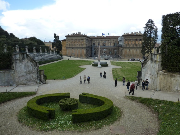 The Boboli Gardens and Pitti Palace