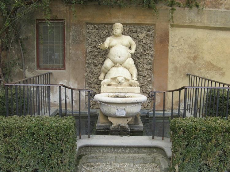 Boboli Gardens In Florence Visit The Boboli Garden Behind Palazzo