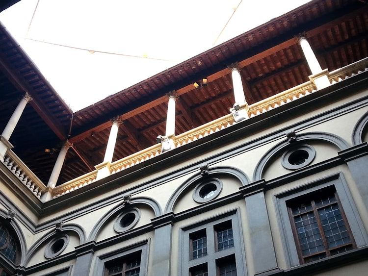 Portico at Palazzo Strozzi