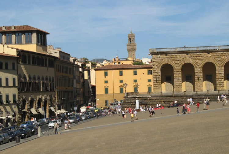 Palazzo Pitti and the front square