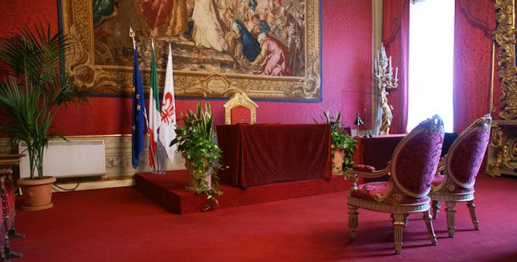 Sala Rossa a Palazzo Vecchio