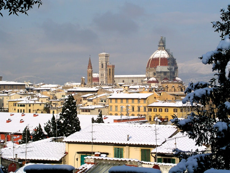Florence, Italy winter tours