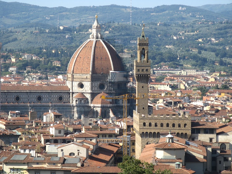 The beauty of Florence in July