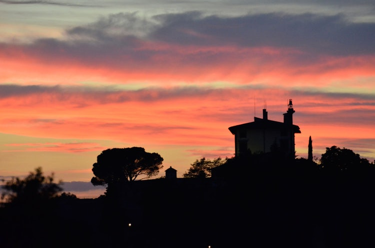 Top Summer Tours: Sunset colors in Florence Tuscany
