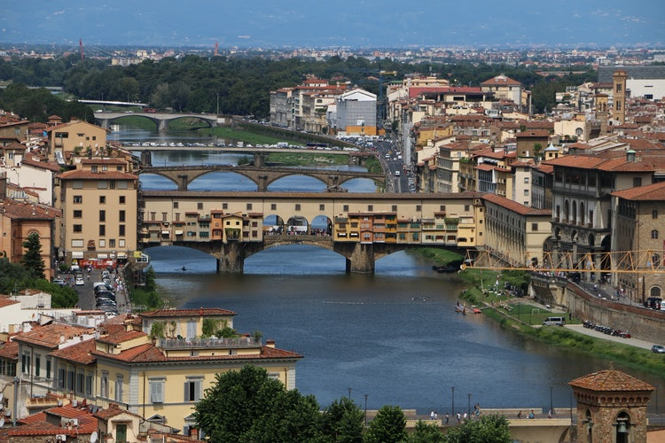 The beauty of Florence is closeby