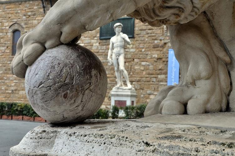 Piazza della Signoria: Statue of David