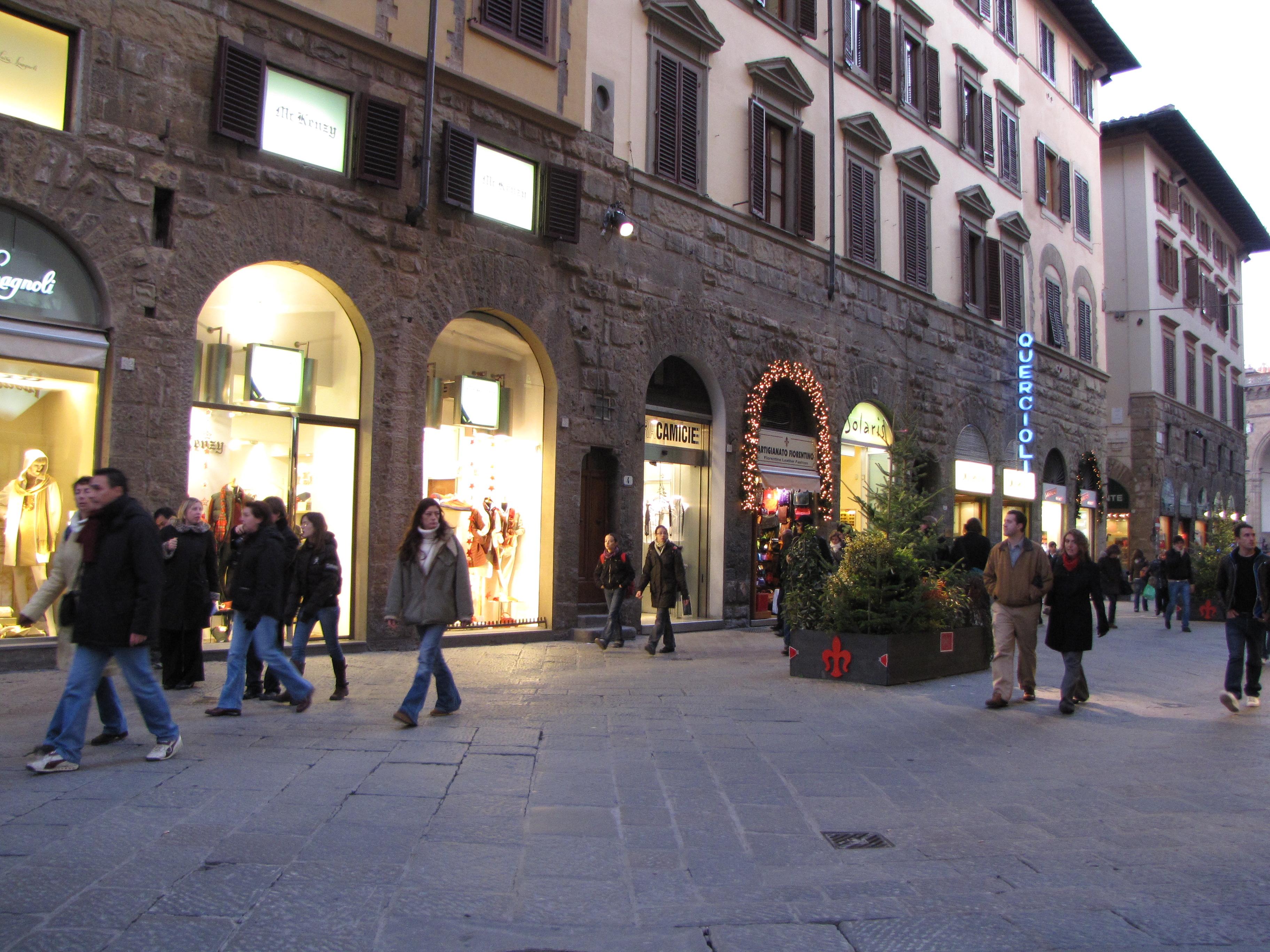 Shopping a Firenze: Dove Fare Shopping a Firenze