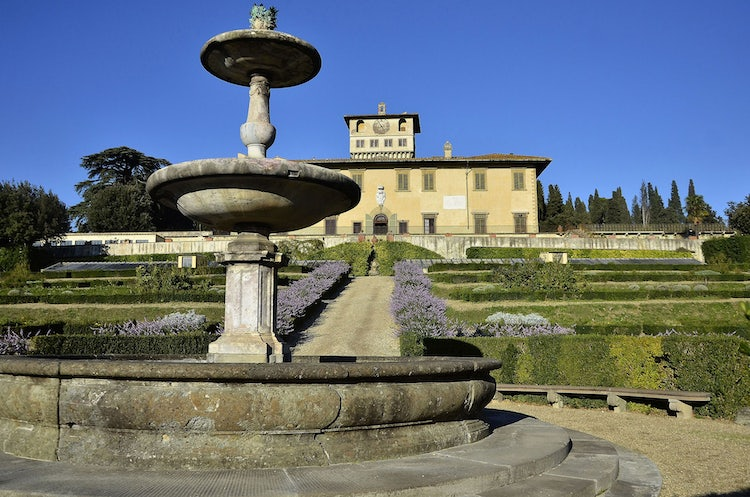 UNESCO Sites:  Medici Villas