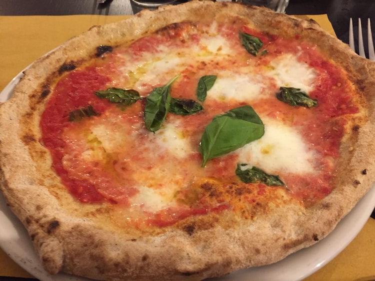 Pizza Margherita a Pizzaman