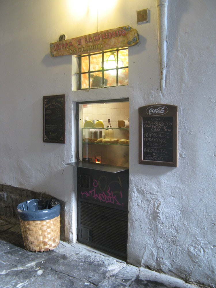 Lampredotto a Florentine Street food in Tuscany