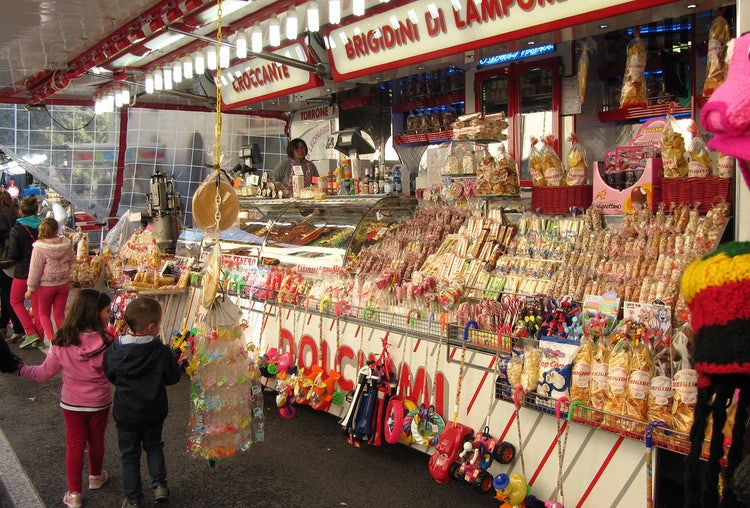 Candy stand at Outdoor Chianti Market
