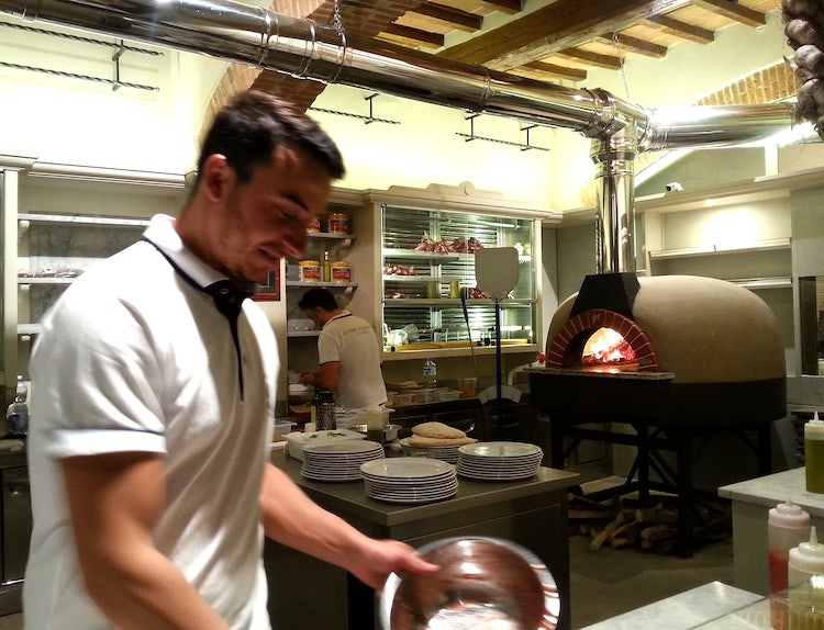 Pizza Follie Romauldo in Florence, Italy