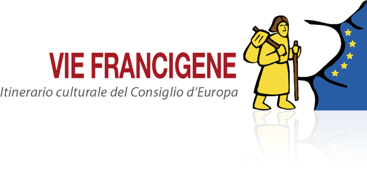 logo for the via francigena in Tuscany