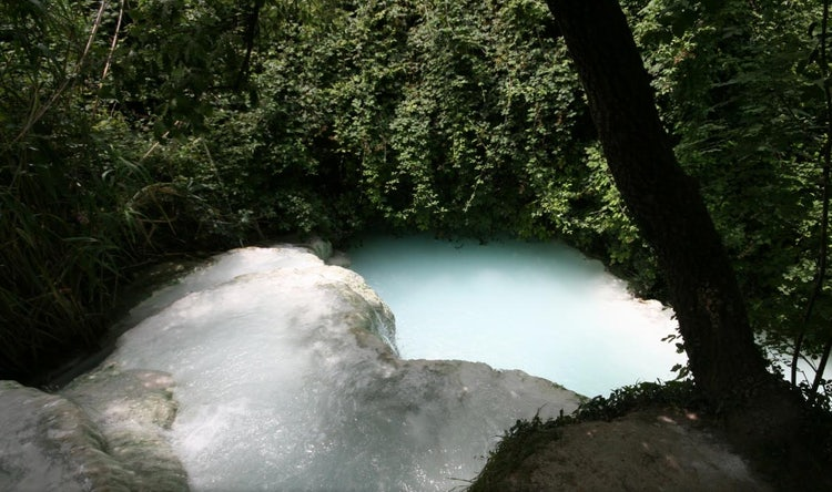 Bagno San Filippo near Monte Amiata